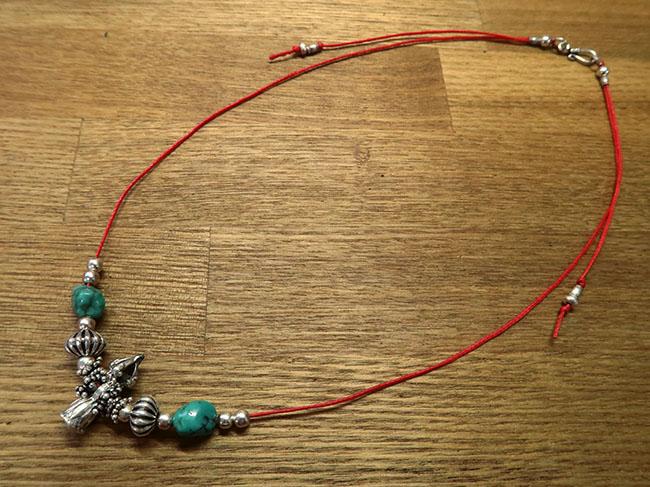 密教法具で作るネックレスのデザイン1
